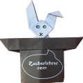 Das Geheimnis von Bunny Bill, dem Origami Zauber Hasen im Hut